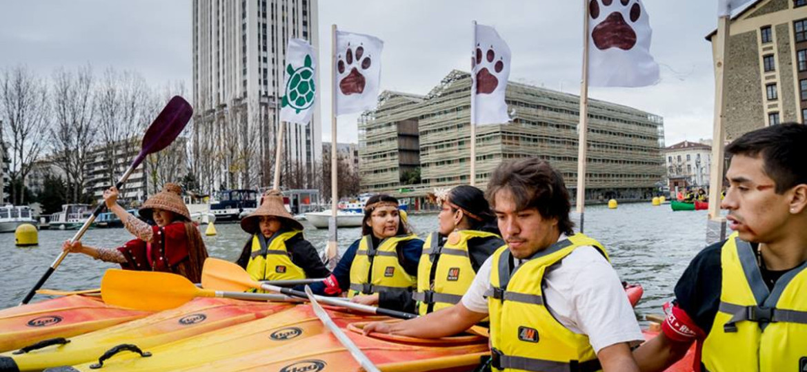 Indigenous Peoples demands Rights in Paris Climate Accord and end to FalseSolutions