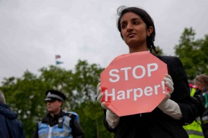 Suzanne Dhaliwal of UK Tar Sands Network - credit Rajan Zaveri